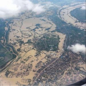 Überschwemmung Serbien
