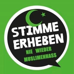 Stimme Erheben, Nie wieder Muslimenhass