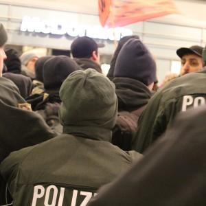 Massiver Polizeieinsatz im Hauptbahnhof