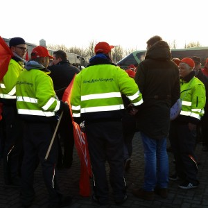 Gewerkschafter des Fordwerks (Foto: Daniel Kerekes)