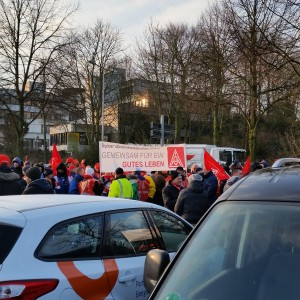 Zentrale Kundgebung IG Metall in Mülheim (Foto: Daniel Kerekes)