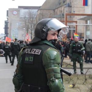 Blockado DOrtmund Polizist 2