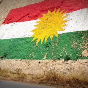 Kurdistan Fahne