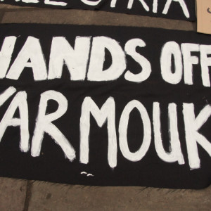 Frieden für Yarmouk - foto von Bud Korotzer