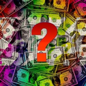 Dollar USA Fragezeichen Geld