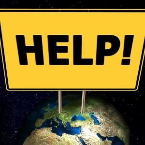 Erde Hilfe SOS