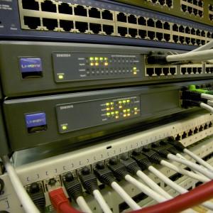 Netzwerk Computer Kabel Datenspeicherung