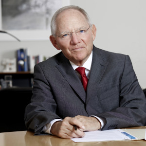 Finanzminister Wolfgang Schäuble - Quelle: Laurence Chaperon