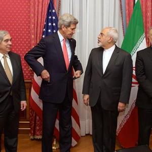 Amerikanische und iranische Politiker (Pic: US State Department)