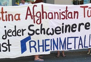 Linksjugend Bremen Rheinmetall