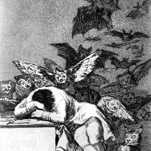 Der Schlaf der Vernunft: Francisco de Goya durchlebte Fortschritt und Konterrevolution und politische Verfolgung im Spanien des 18. Jahrhunderts. Ⓒ Wikimedia Commons