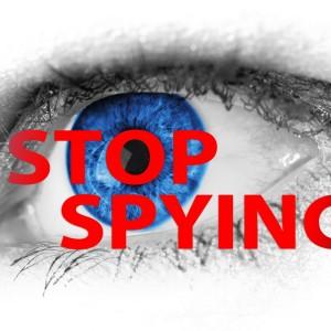 stop spying abhören vds spähen spionieren