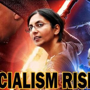 socialim rising: Savant und Sanders
