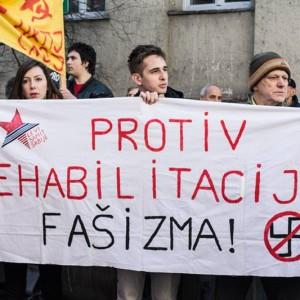 Proteste gegen Rechts und Querfront, Foto: Linker Gipfel Serbiens