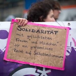 Frauentag Frauenkampftag Solidarität Frauen linke
