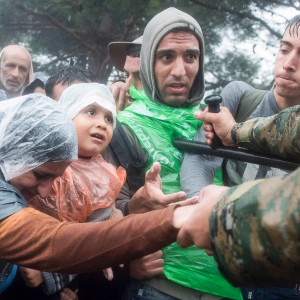 Mazedonisch-Griechische Grenze, Foto: flickr, Public Domain Mark 1.0