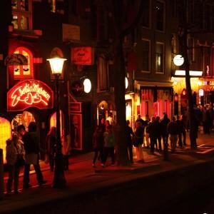 Amsterdam Rotlicht Prostitution Hure Sex Sexarbeit