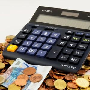 Euro Geld Steuern Taschenrechner Pixabay