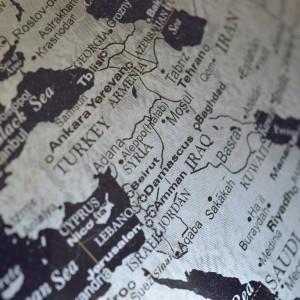Syrien Weltkarte Landkarte Karte Nahost Irak Pixavay