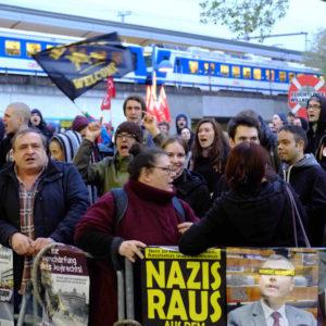 Proteste gegen Rechts - Foto: neue Linkswende