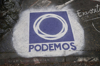 Podemos logo _DDC1888 by thierry ehrmann licensed under CC BY 2.0.