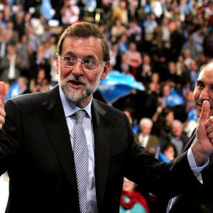 Mariano Rajoy wird Spanien auf weiteres Spaniens politische Geschicke leiten. Foto: Partido Popular de Cantabria, CC BY-ND 2.0, Acto Público de Mariano Rajoy en Santander, via flickr.com