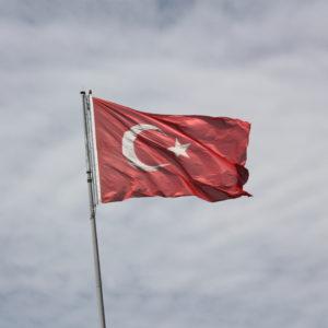 Die Flagge der modernen Türkei. Foto: William John Gauthier, CC BY-SA 2.0, Turkish flag, via flickr.com