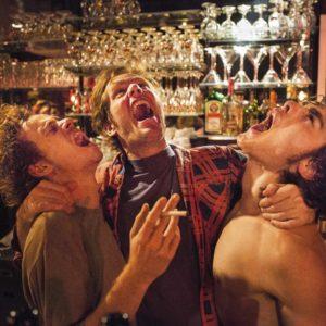 Jo (Stef Aerts), Frank (Tom Vermeir) und Davy Coppens (Boris van Severen), Foto: Pandora Film Presseofot