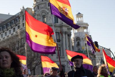 Proteste für die Republik. Foto: rafa_luque, Tricolor, via flickr.com