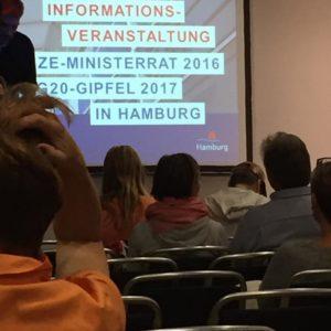 Informationsveranstaltung zum OSZE Gipfel in Hamburg, Foto: David Stoop, CC0