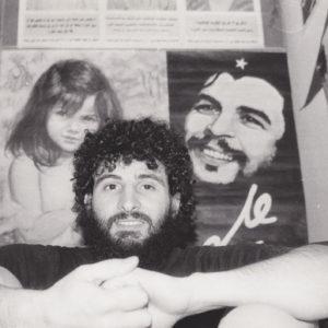 Che Guevara war damals Nabils Vorbild. Er selbst war auch bewaffnet im Bürgerkrieg im Libanon. Copyright: Kerstin El-Sayed