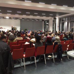 Ca. 160 Gäste nahmen an der Diskussion teil.