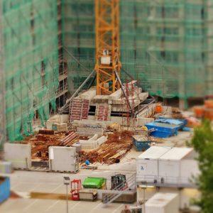 Baustelle Bauen Wohnen Häuser Bau