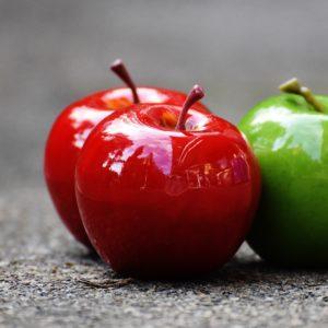 Apfel Äpfel r2g Rot-Rot-Grün