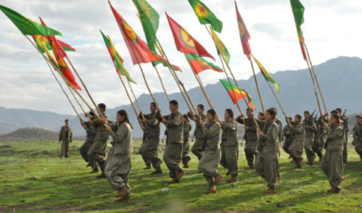 Kurdische Milizen im Kampf gegen den Türkischen Staat. Foto: Kurdishstruggle, licensed under CC BY 2.0, Kurdish PKK Guerillas, via flickr.com