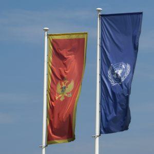 Montenegro Fahne