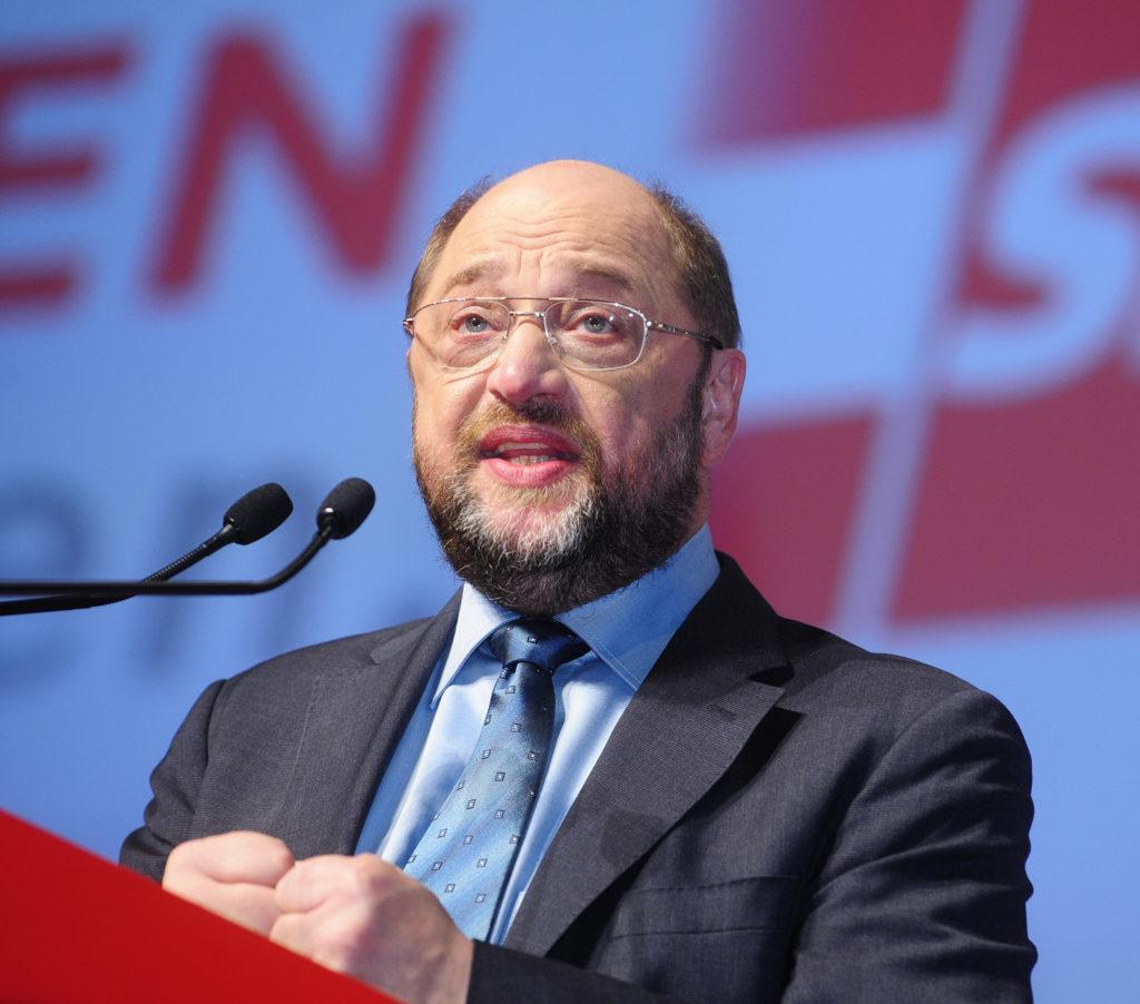 SPD startet Politischen Aschermittwoch - Schulz: Mehrheit sitzt hier