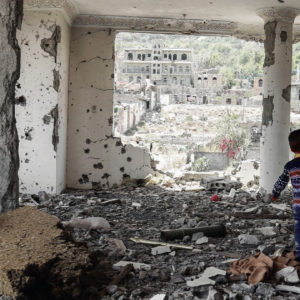 Krieg und Flucht: Der Jemenkrieg als größte humanitäre Krise der Welt – geführt  mit deutschen Waffen